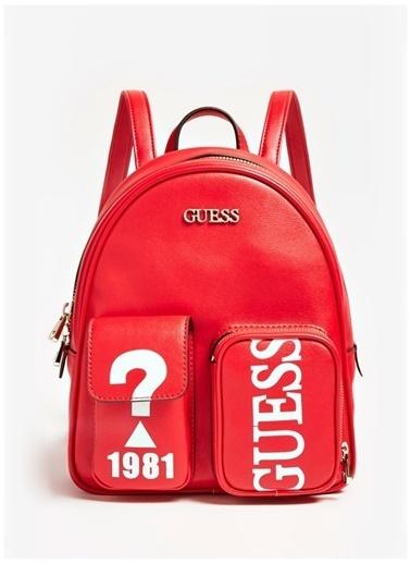 Guess Sırt Çantası Kırmızı